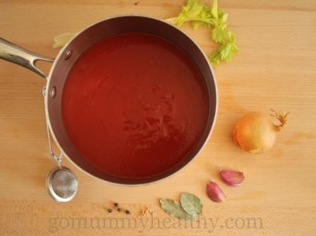 Home-made no-sugar ketchup recipe - healthy recipes