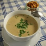 Chicken and leek soup - recipe