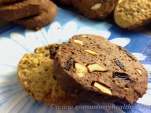 Healthy low-calorie cookies