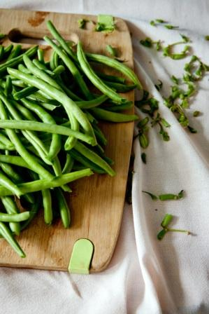 Green beans - freezer tips