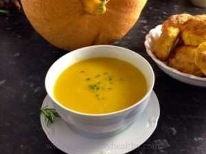 Pumpkin soup - pumpkin recipes