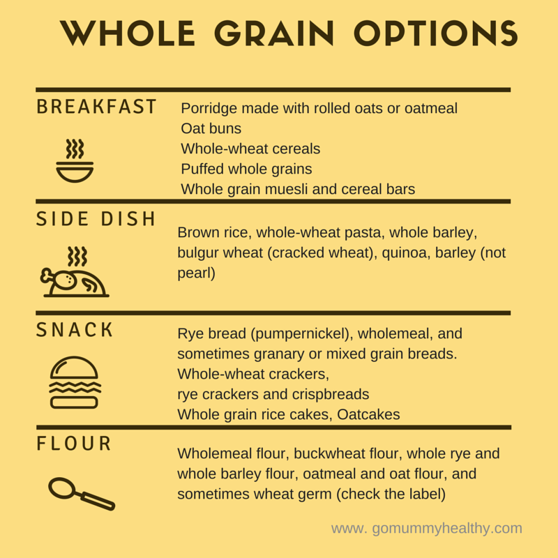 whole grain options