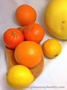 citrus fruits - Light make-ahead Christmas dessert