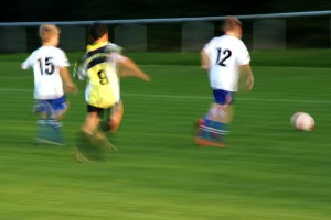 nutritional needs of young children playing sport