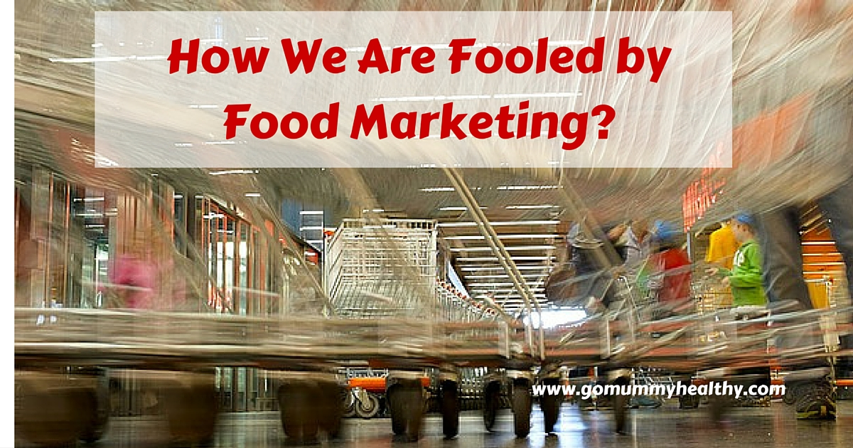 Food marketing, food labels