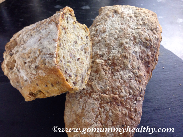 Easy home-made bread