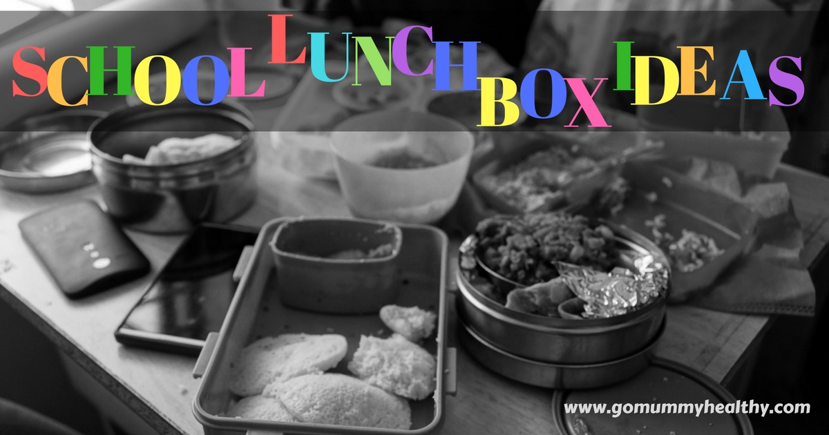 School Lunch Box Ideas
