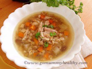 Slow cooker chicken broth recipe