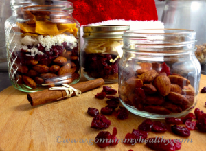 Christmas Trail Mix - Light make-ahead Christmas dessert