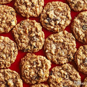 oat meal cookies recipe - Light make-ahead Christmas dessert