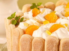Easter Menu - Mandarin and Pineapple cake