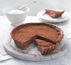 Easter menu - Chocolate tart