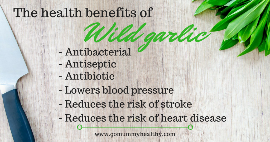 health benefits of wildgarlic