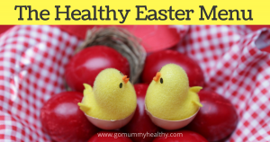 The healthy Easter menu